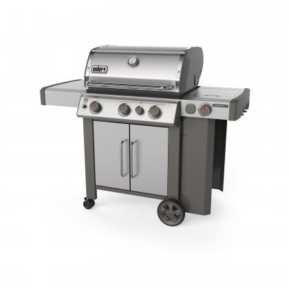 Weber Plynový gril Genesis® II SP-335 GBS Stainless steel, nerezový