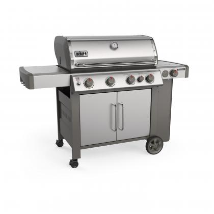 Weber plynový gril Genesis® II SP-435 GBS Stainless steel, nerezový